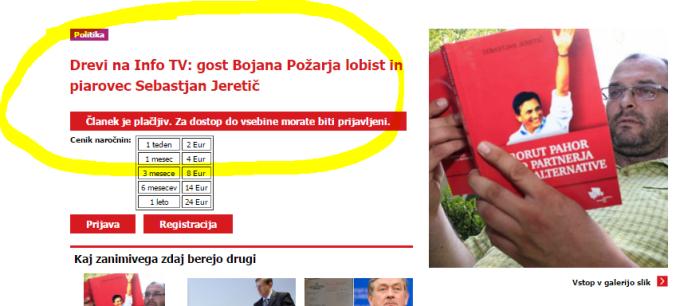 Sebastjan Jeretič lobist in piarovec